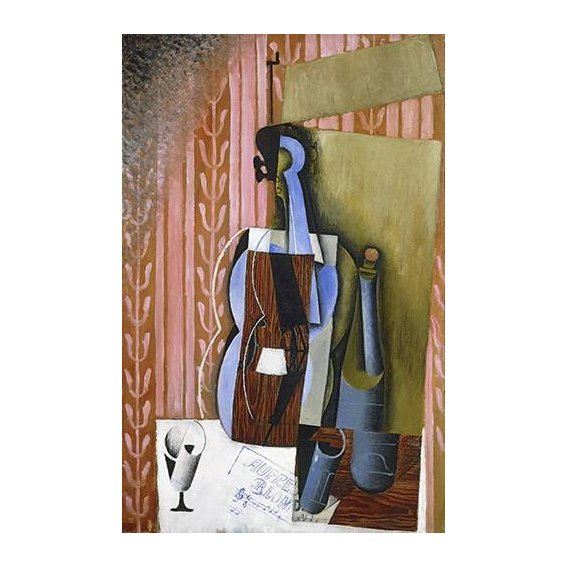 pinturas abstratas - Quadro -Violin-