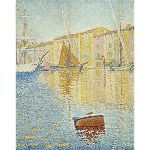 Tableau -La Bouée rouge, Saint-Tropez, 1895-