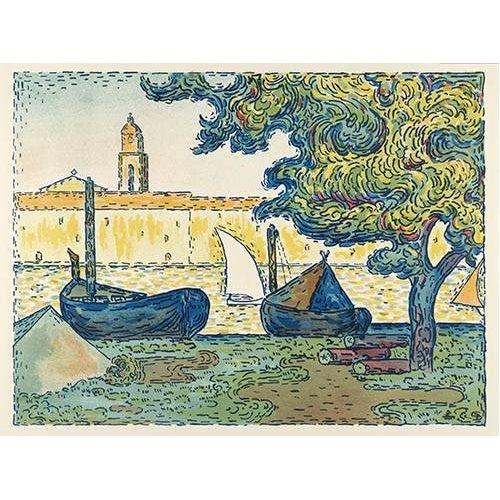 Tableau -Saint-Tropez-
