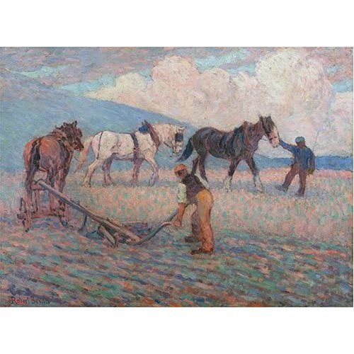 Tableau -The Turn Rice-Plough, Sussex-
