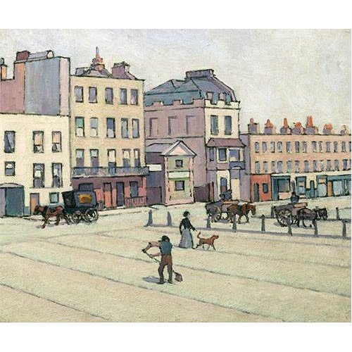 pinturas de paisagens - Quadro -The Weigh House, Cumberland Market-
