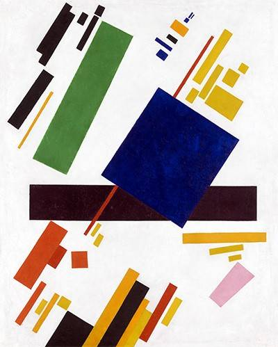 tableaux-abstraits - Tableau -Suprematist Composition- - Malevich, Kazimir S.