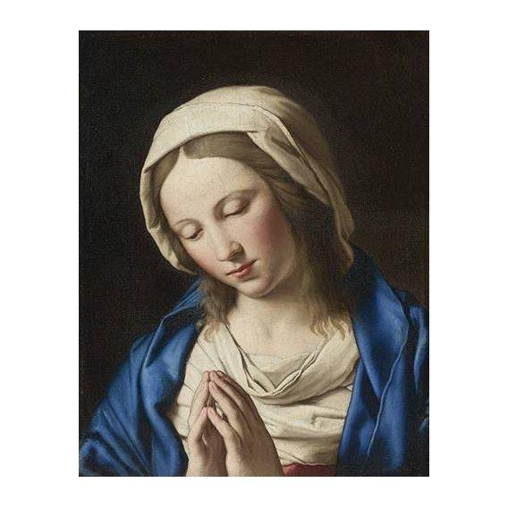 imagens religiosas - Quadro -La Virgen Rezando (II)-