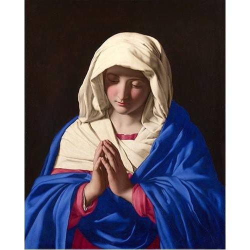 Tableau -La Virgen rezando, 1640-50-