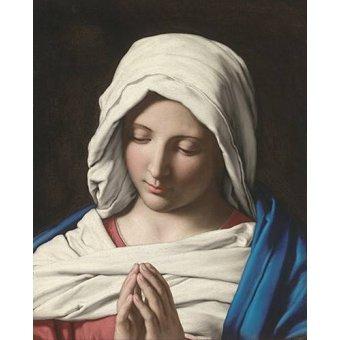 Tableaux religieuses - Tableau -La VIrgen Rezando- - Sassoferrato