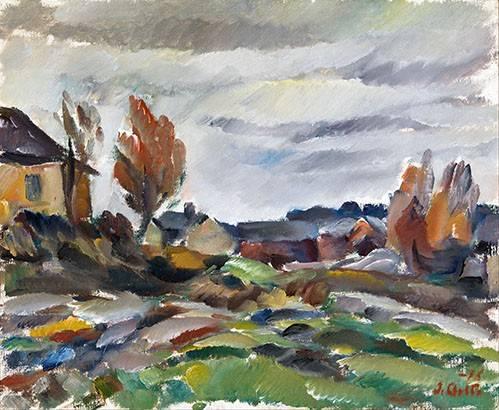 tableaux-de-paysages - Tableau -Storm- - Aalto, Ilmari