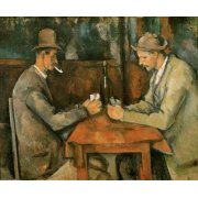 Tableau - Les Joueurs de cartes, 1890 -