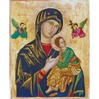Tableaux religieuses - Tableau -Virgen Del Perpetuo Socorro- - _Anónimo