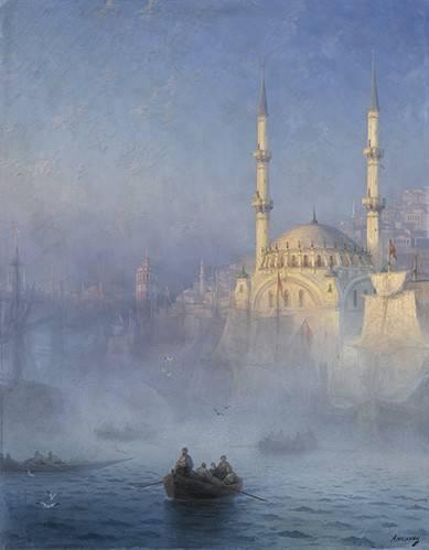 tableaux-de-paysages-marins - Tableau -Constantinopla- - Aivazovsky, Ivan Konstantinovich