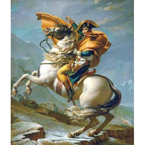 Tableau -Napoléon Bonaparte traversant les Alpes, 1801-