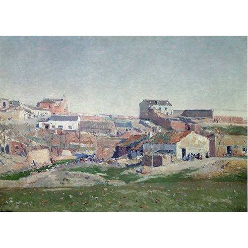 Tableau -Barrio de Bellas Vistas (Afueras de Madrid)-