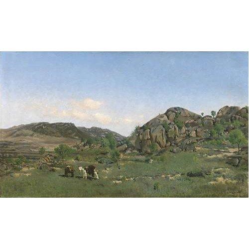 pinturas de paisagens - Quadro -Paisaje de Torrelodones (Madrid)-