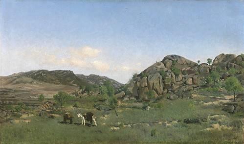 tableaux-de-paysages - Tableau -Paisaje de Torrelodones (Madrid)- - Beruete, Aureliano de