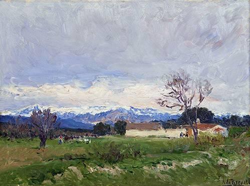 tableaux-de-paysages - Tableau -Paisaje del Pardo (Madrid)- - Beruete, Aureliano de