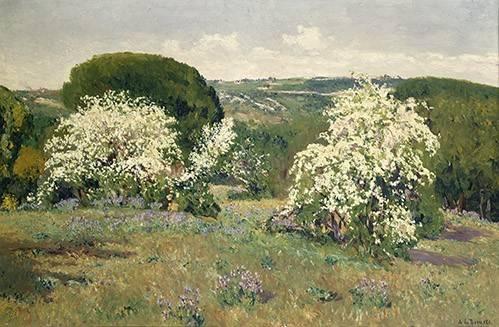 tableaux-de-paysages - Tableau -Espinos en flor- - Beruete, Aureliano de