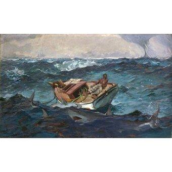 Tableaux de paysages marins - Tableau -The Gulf Stream, 1899- - Homer, Winslow