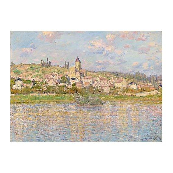 pinturas de paisagens - Quadro -Vetheuil, 1879-
