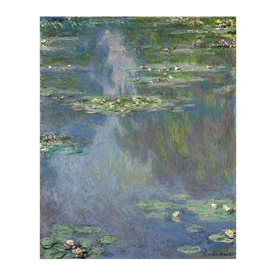 pinturas de paisagens - Quadro -Nympheas-