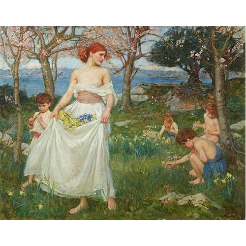 Tableau -Le Champ Du Printemps-