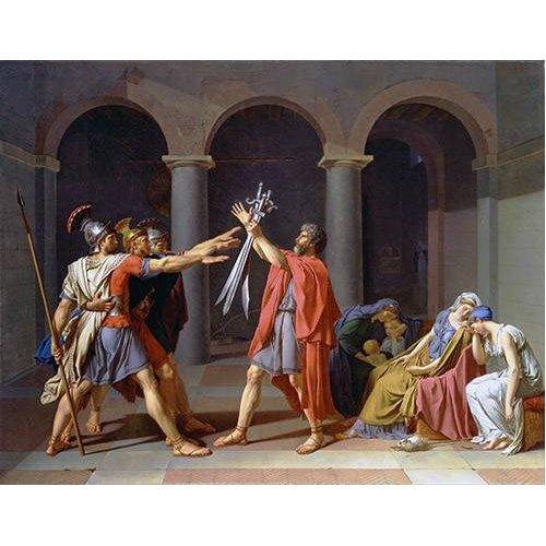 Tableau -Le serment des Horaces-