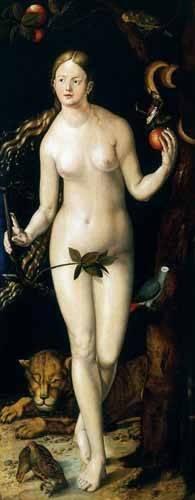 tableaux-religieuses - Tableau -Eva- - Dürer, Albrecht (Albert Durer)