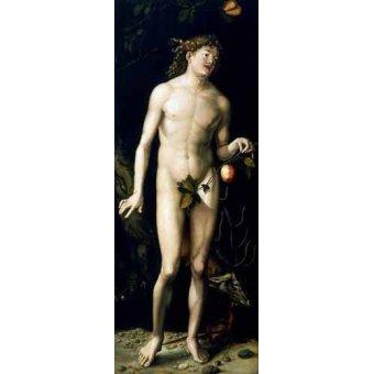 Tableaux de Nus - Tableau -Adán- - Dürer, Albrecht (Albert Durer)