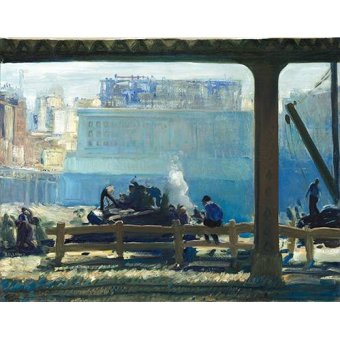 - Tableau -Blue Morning- - Bellows, George