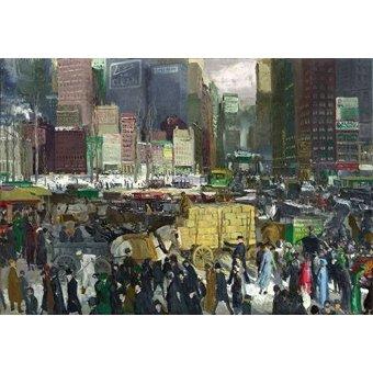 - Tableau -New York, 1911- - Bellows, George