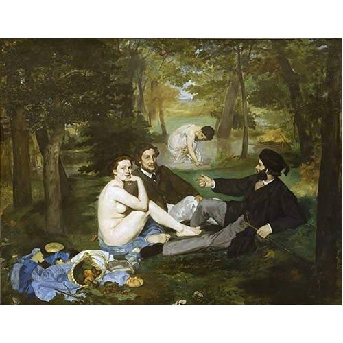Tableau -Le Déjeuner sur l'Herbe, 1863-