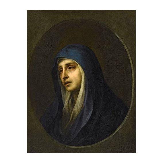 imagens religiosas - Quadro -La Dolorosa-