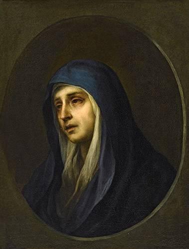 tableaux-religieuses - Tableau -La Dolorosa- - Murillo, Bartolome Esteban
