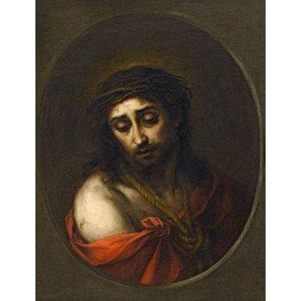 Tableaux religieuses - Tableau -Ecce Homo- - Murillo, Bartolome Esteban