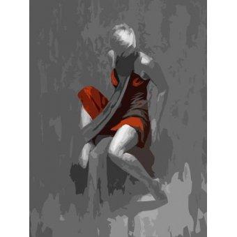 Tableaux de Personnages - Tableau -Moderno CM6986- - Medeiros, Celito