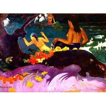 Tableaux de Personnages - Tableau -Fatata te Miti, 1892- - Gauguin, Paul