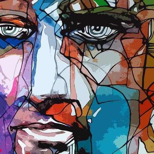 tableaux-modernes - Tableau -Moderno CM6828- - Medeiros, Celito