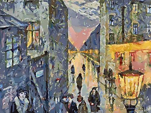tableaux-modernes - Tableau -Moderno CM12579- - Medeiros, Celito
