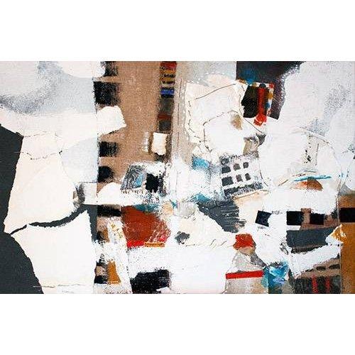 Tableau -Abstrait - Intérieurs (A) -