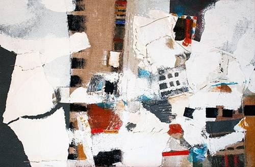 tableaux-abstraits - Tableau -Abstrait - Intérieurs (A) - - Herron, Marisa
