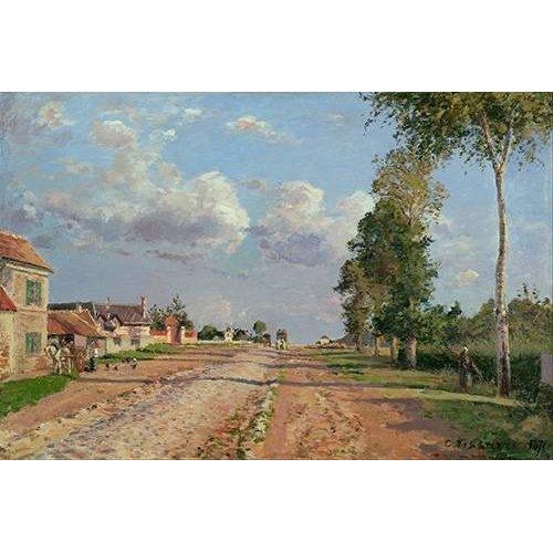 Tableau -Route de Versailles-