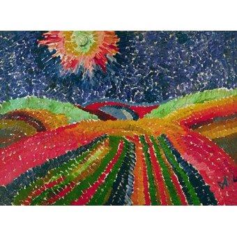 Tableaux de paysages - Tableau -Caminho- - Morgner, Wilhelm