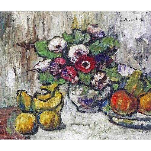 Tableau -Still Life With Anemones-
