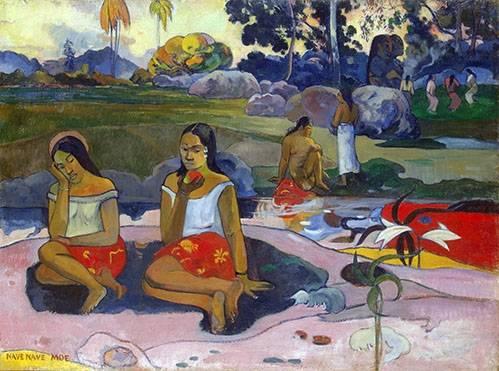 tableaux-de-paysages - Tableau -Nave Nave Moe- - Gauguin, Paul