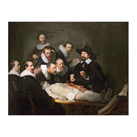 Quadro -Lição de Anatomia do Prof. Nicolaes Tulp-