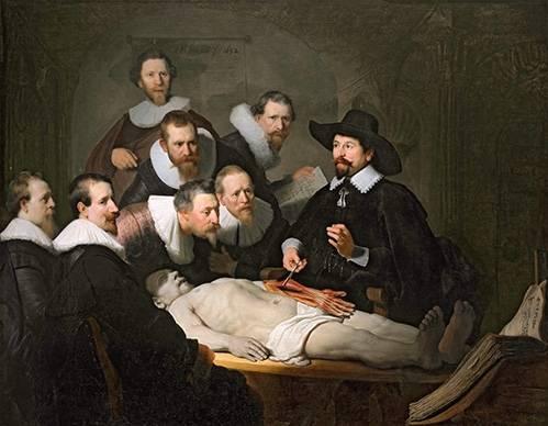tableaux-de-personnages - Tableau - La Leçon d'anatomie du docteur Tulp - - Rembrandt, Hermensz Van Rijn