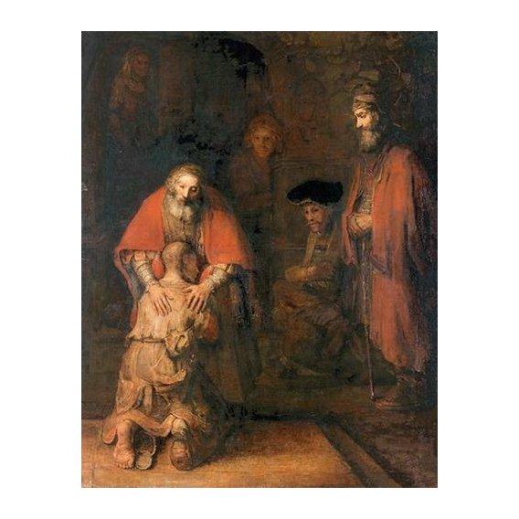 Quadro -O retorno do filho pródigo-