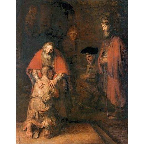 Tableau -Le retour du fils prodigue-