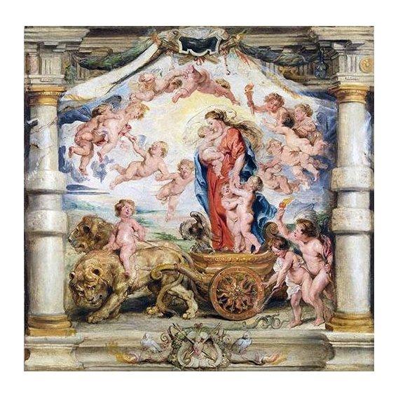 Quadro -El triunfo del amor divino-
