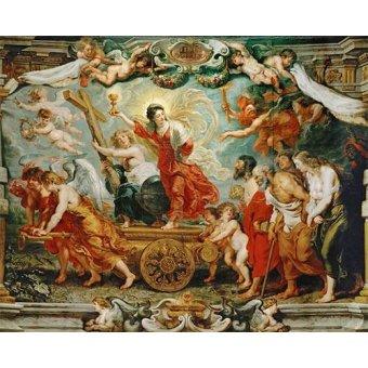 Tableaux religieuses - Tableau -El triunfo de la fe- - Rubens, Peter Paulus