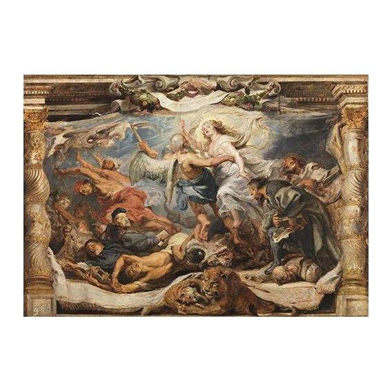 Quadro -La victoria de la verdad sobre la herejia-