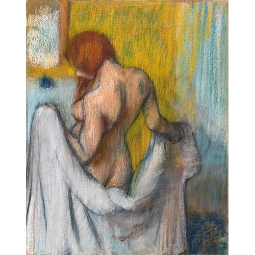 Tableau -Femme avec une serviette-
